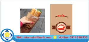in tui giay dung banh mi